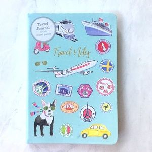 "Eccolo Travel Journal NWT ""Travel Notes"""